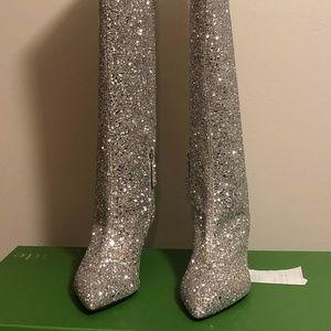 Kate Spade Olina Glitter Boots
